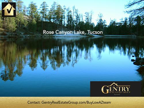 Tucson Rose Canyon Lake