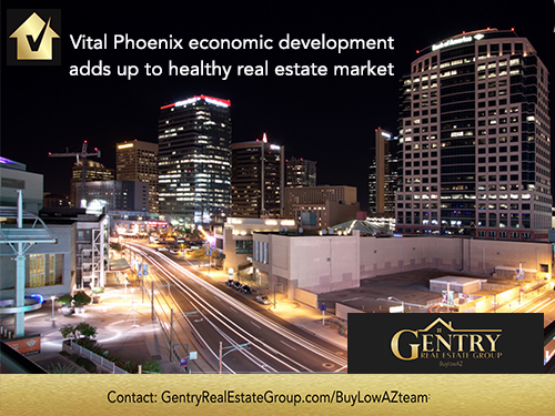 Phoenix Economic Development Adds up to a Healthy Real Estate Market