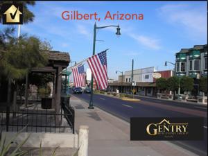 Gilbert Arizona real estate