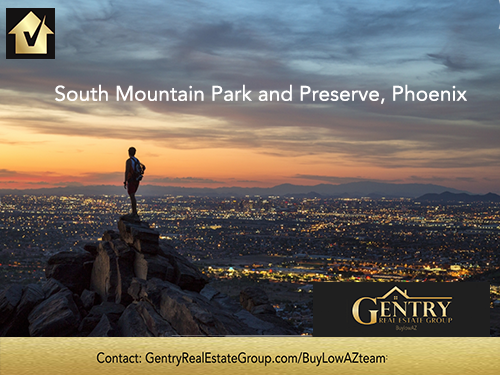 Phoenix's South Mountain Park and Preserve
