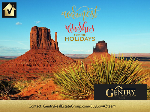 Warmest Holiday Wishes from the Gentry Real Estate Group